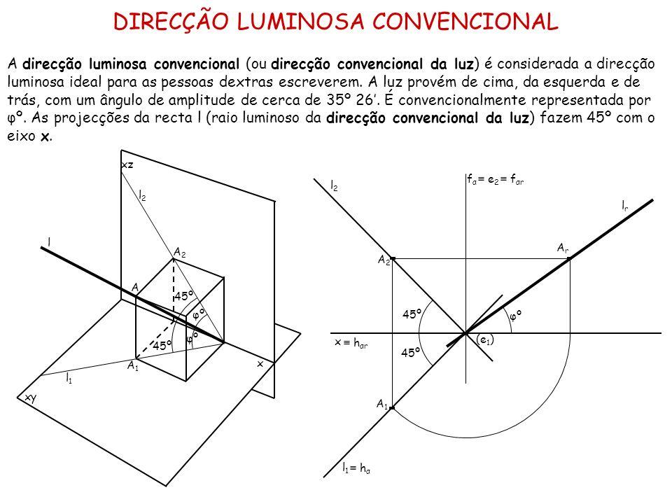 DIRECÇÃO LUMINOSA CONVENCIONAL