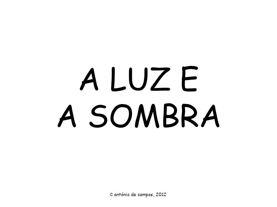 A LUZ E A SOMBRA © antónio de campos, 2012