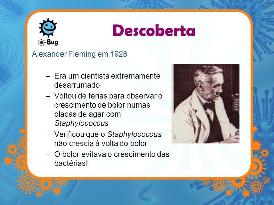 Descoberta Alexander Fleming em 1928