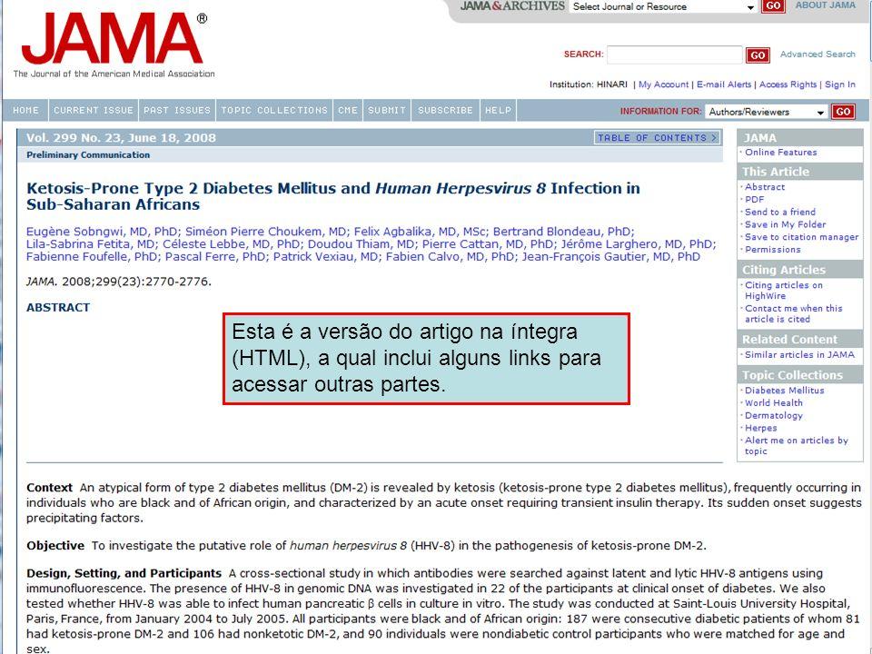 Esta é a versão do artigo na íntegra (HTML), a qual inclui alguns links para acessar outras partes.