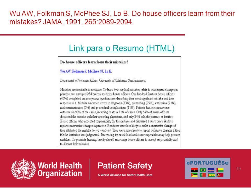 Link para o Resumo (HTML)