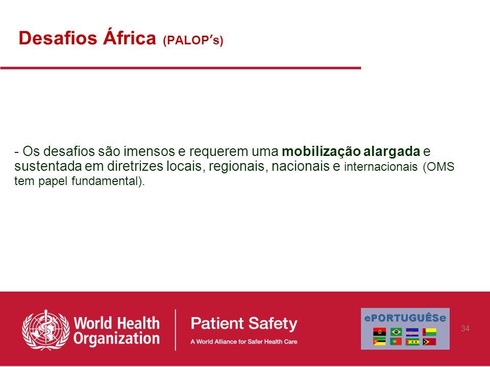 Desafios África (PALOP's)