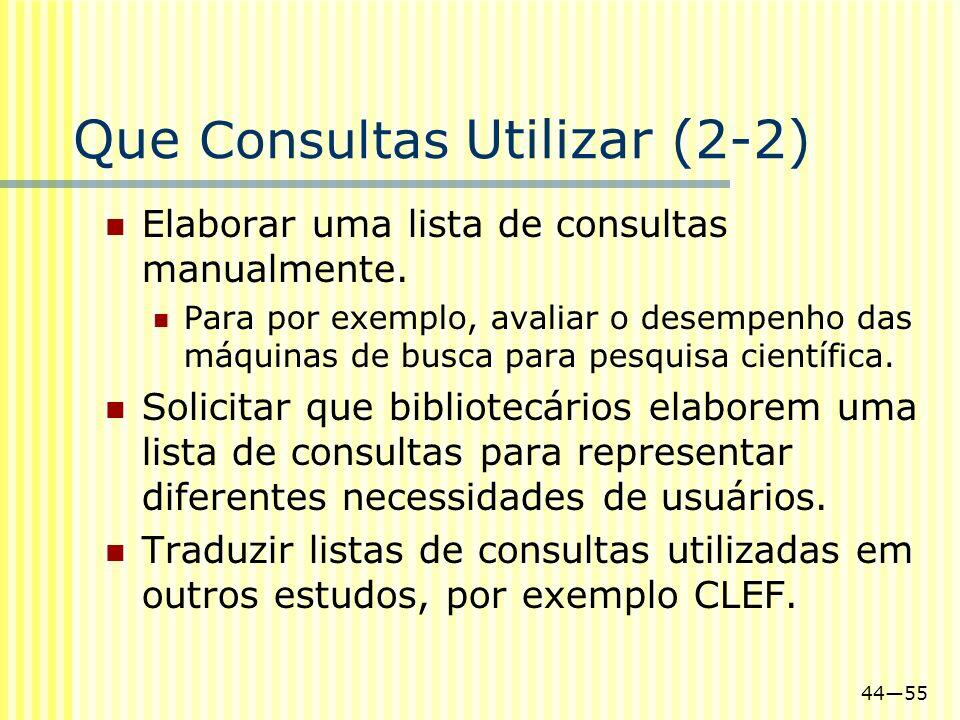 Que Consultas Utilizar (2-2)