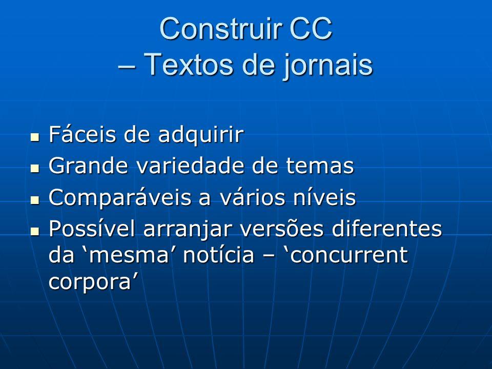 Construir CC – Textos de jornais