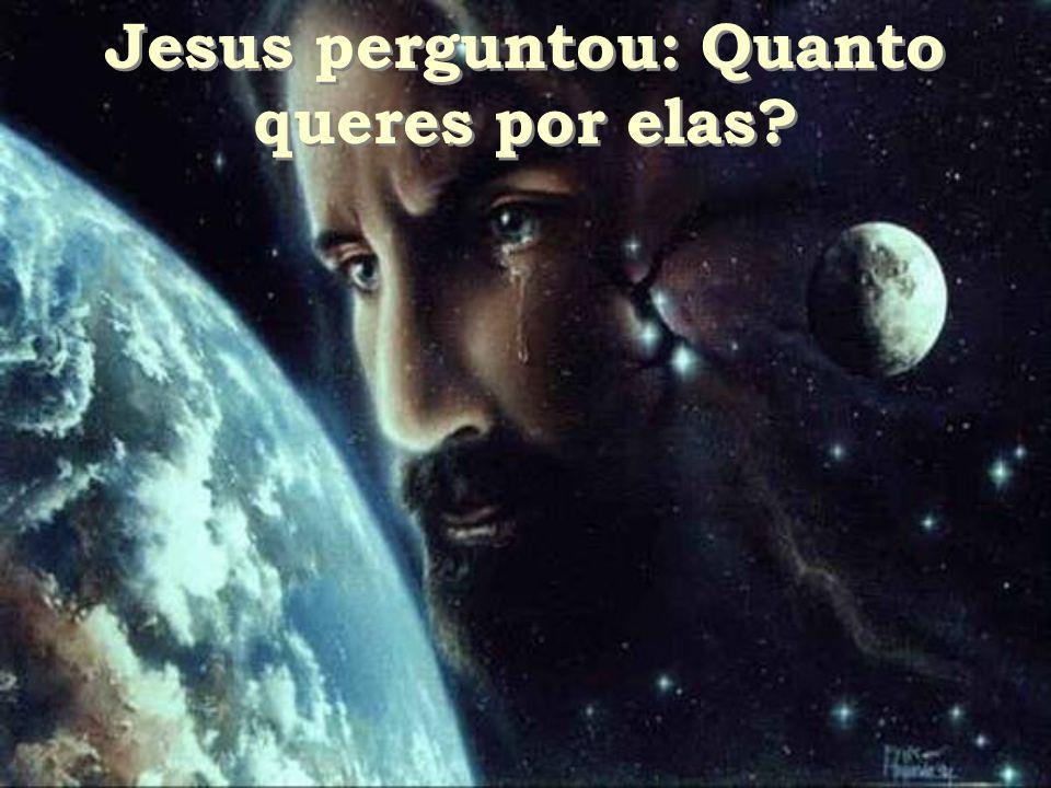 Jesus perguntou: Quanto queres por elas