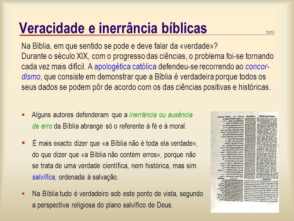 Veracidade e inerrância bíblicas