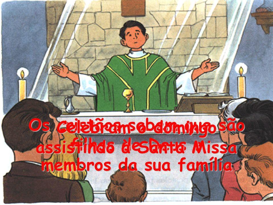 Os cristãos sabem que são filhos de Deus e membros da sua família
