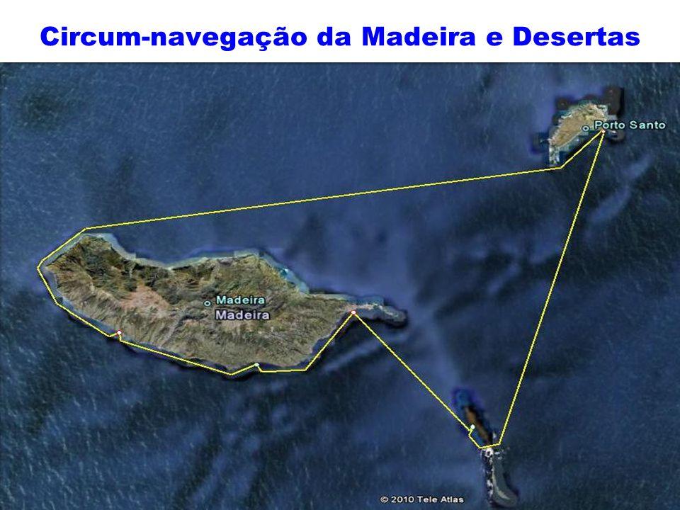 Circum-navegação da Madeira e Desertas