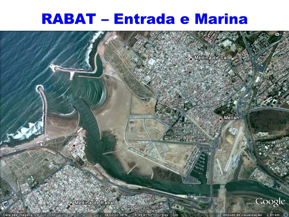 RABAT – Entrada e Marina