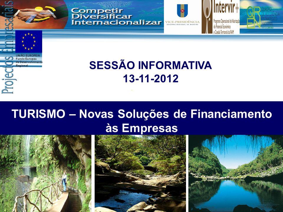 TURISMO – Novas Soluções de Financiamento às Empresas