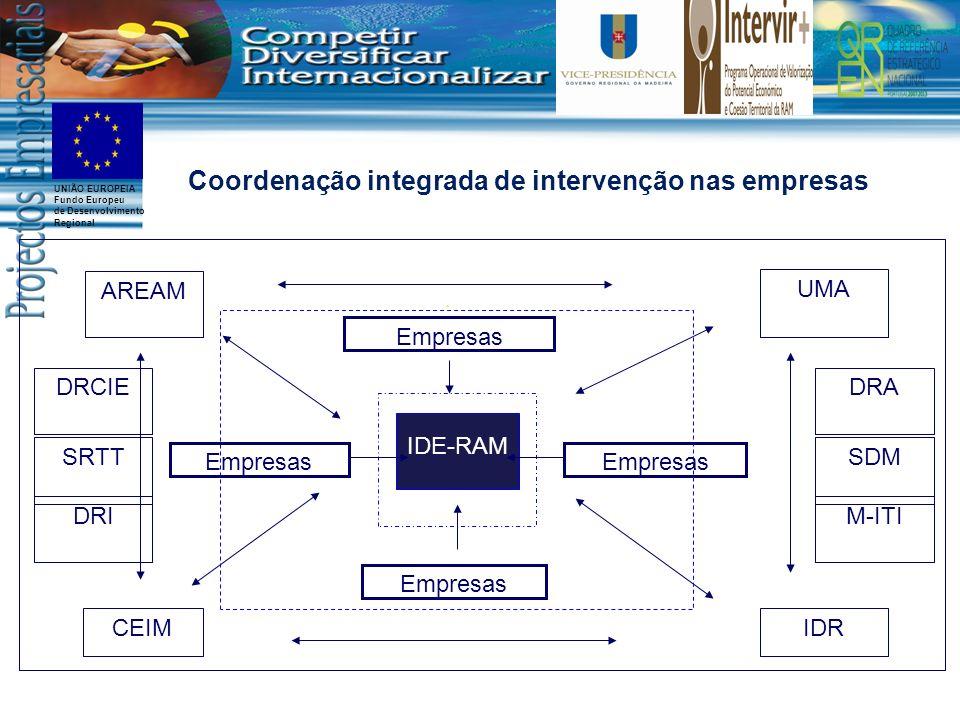 Coordenação integrada de intervenção nas empresas