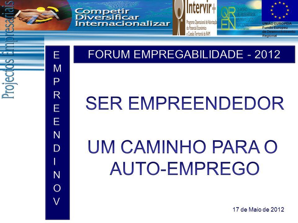 FORUM EMPREGABILIDADE - 2012