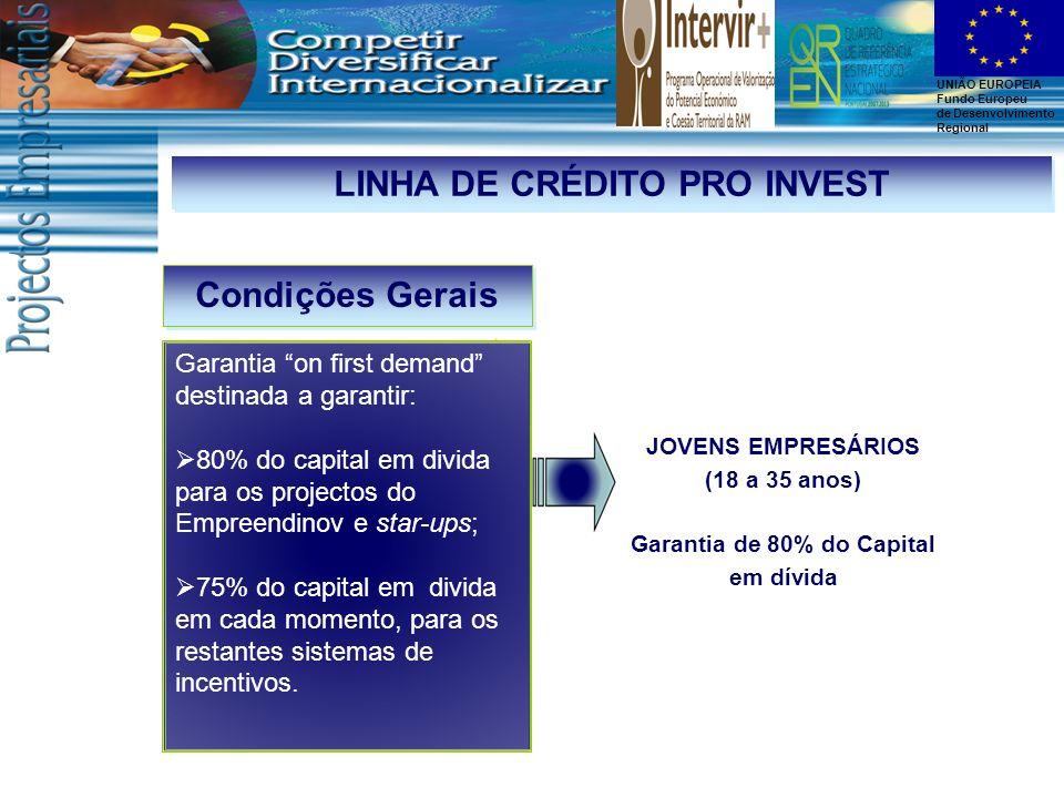 LINHA DE CRÉDITO PRO INVEST