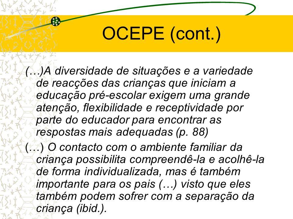 OCEPE (cont.)