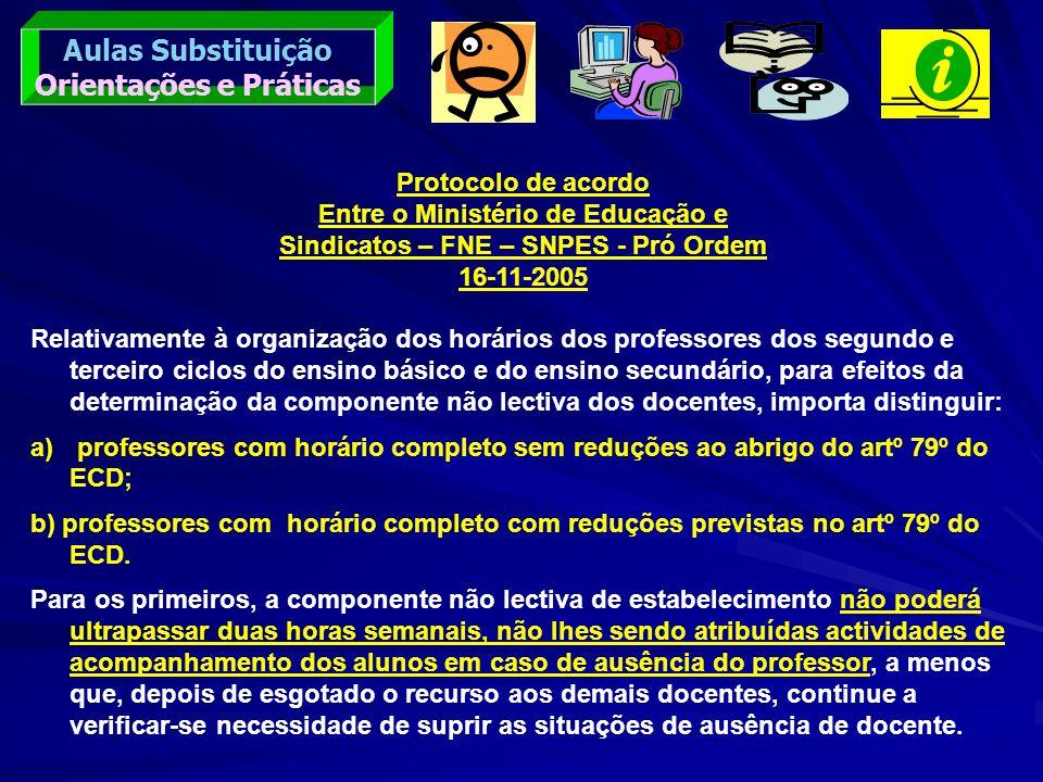 Aulas Substituição Orientações e Práticas