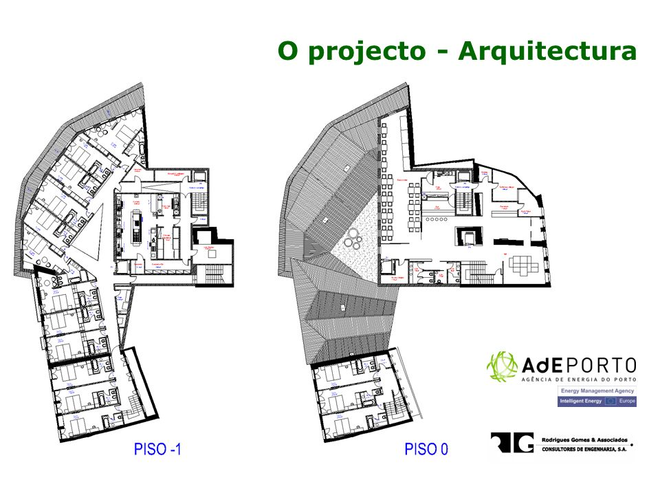O projecto - Arquitectura
