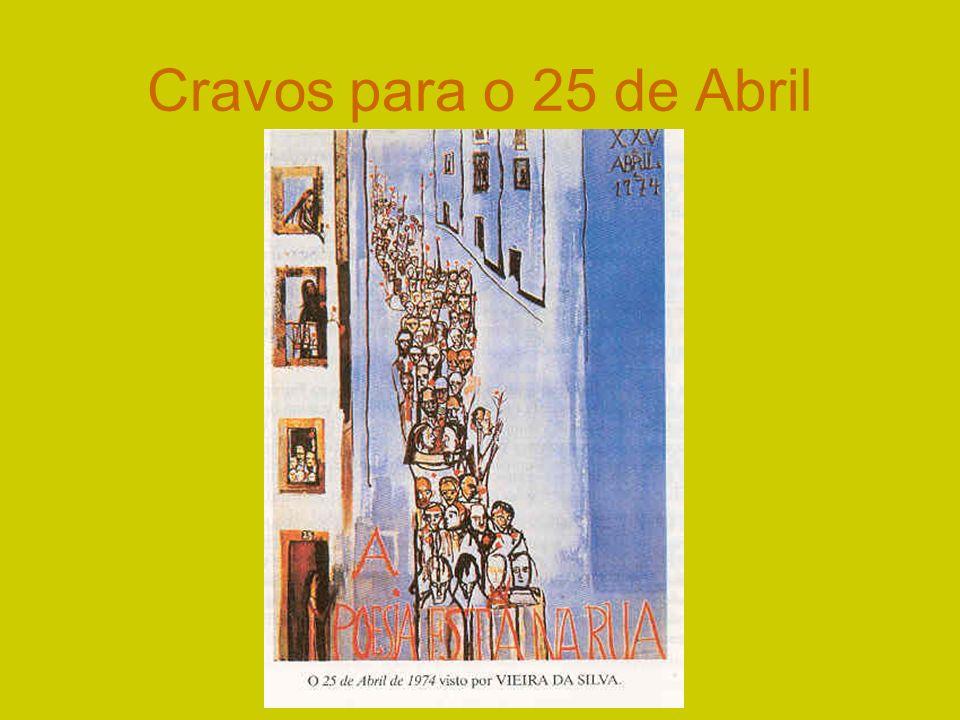 Cravos para o 25 de Abril
