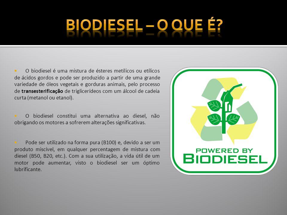 Biodiesel – O que é