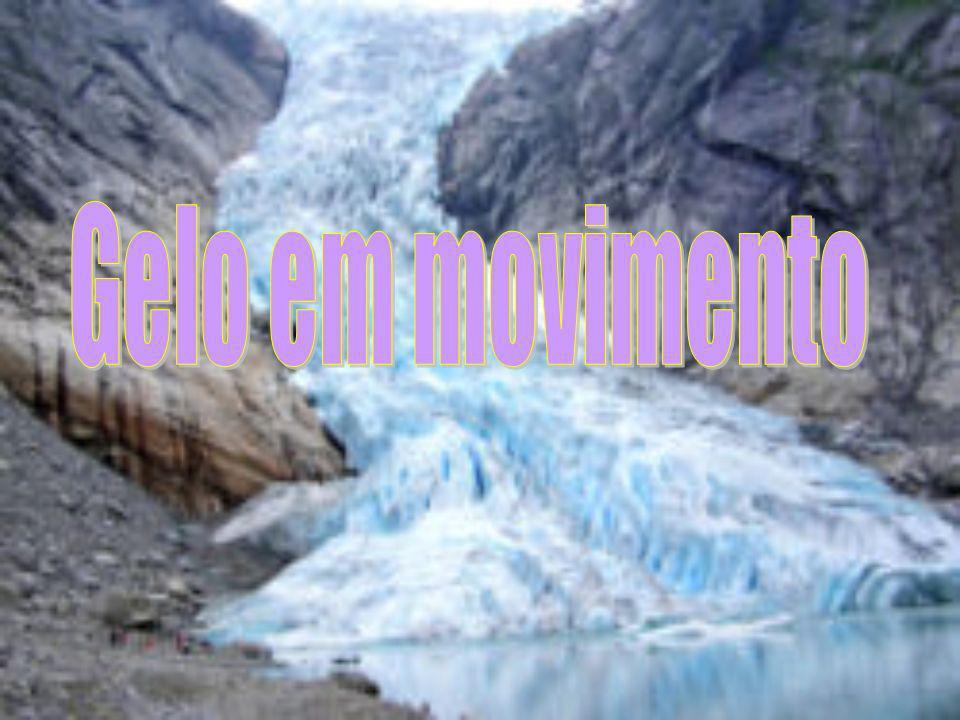 Gelo em movimento