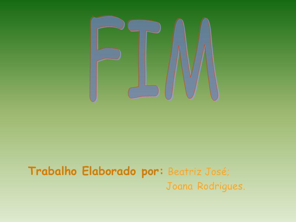 FIM Trabalho Elaborado por: Beatriz José; Joana Rodrigues.