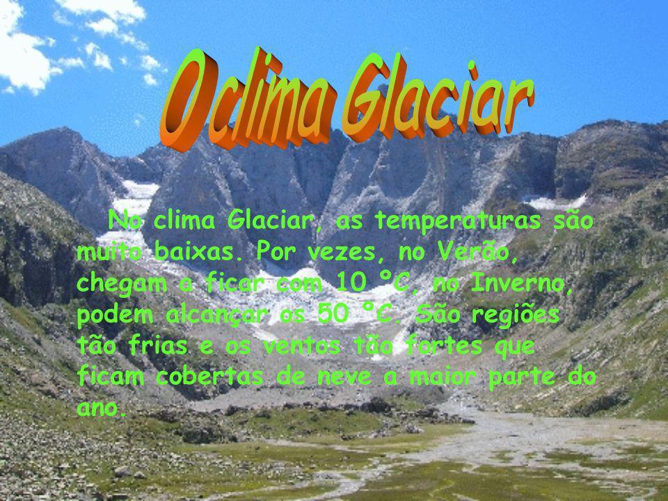 O clima Glaciar