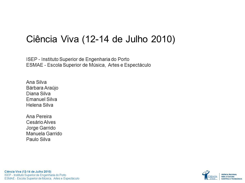 Ciência Viva (12-14 de Julho 2010)