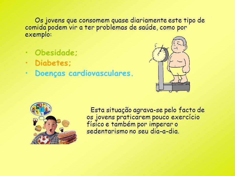 Doenças cardiovasculares.