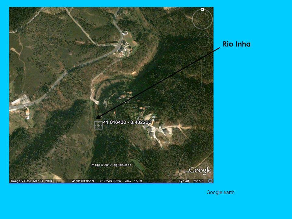 Rio Inha Google earth