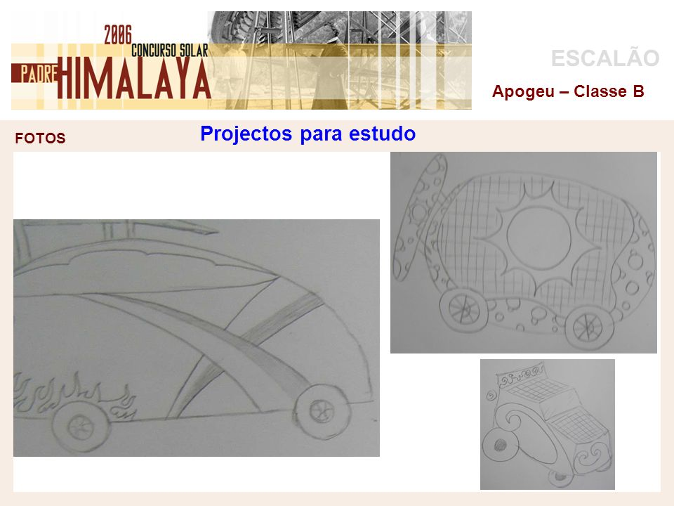 Projectos para estudo