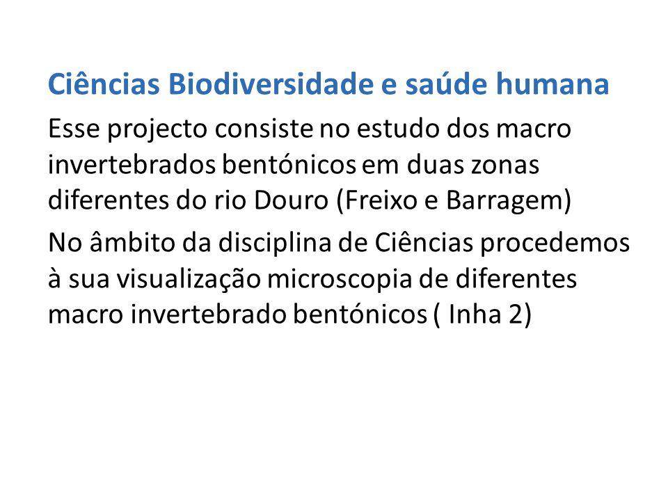 Ciências Biodiversidade e saúde humana