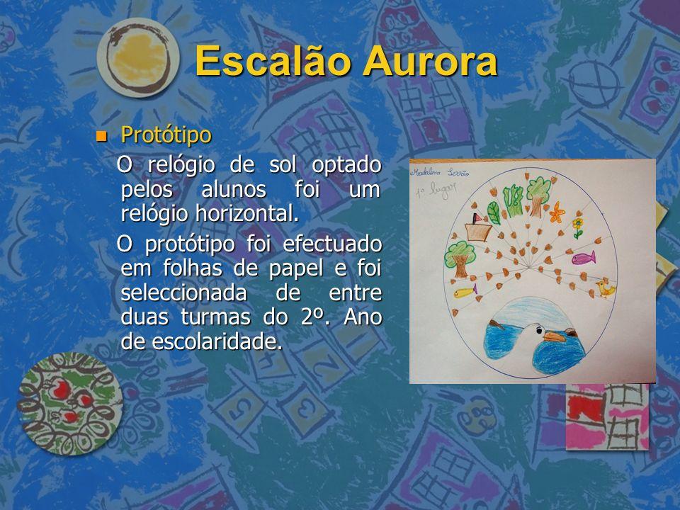 Escalão Aurora Protótipo