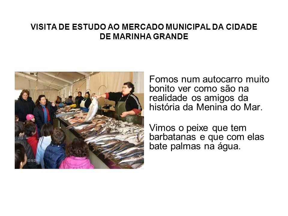 VISITA DE ESTUDO AO MERCADO MUNICIPAL DA CIDADE DE MARINHA GRANDE