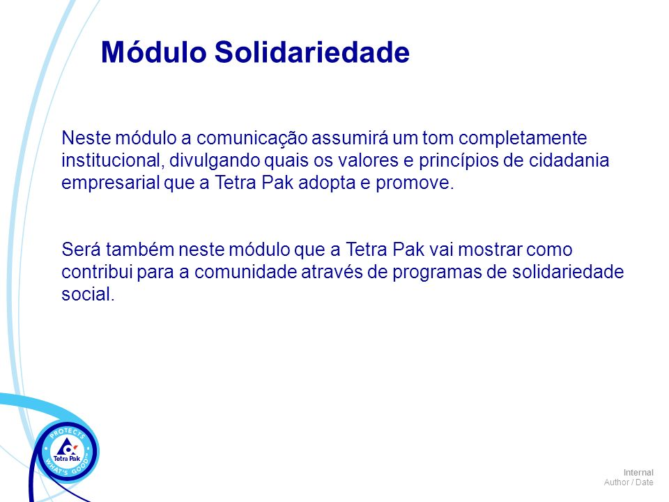 Módulo Solidariedade