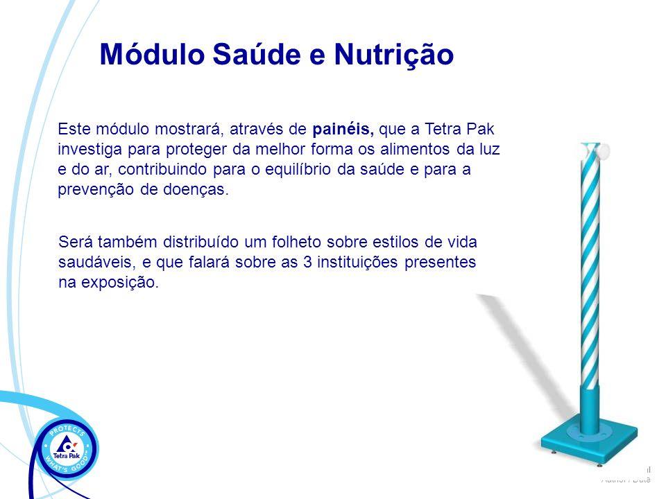 Módulo Saúde e Nutrição