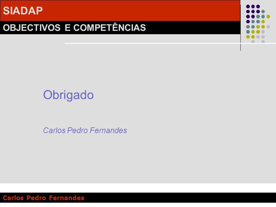 Obrigado Carlos Pedro Fernandes