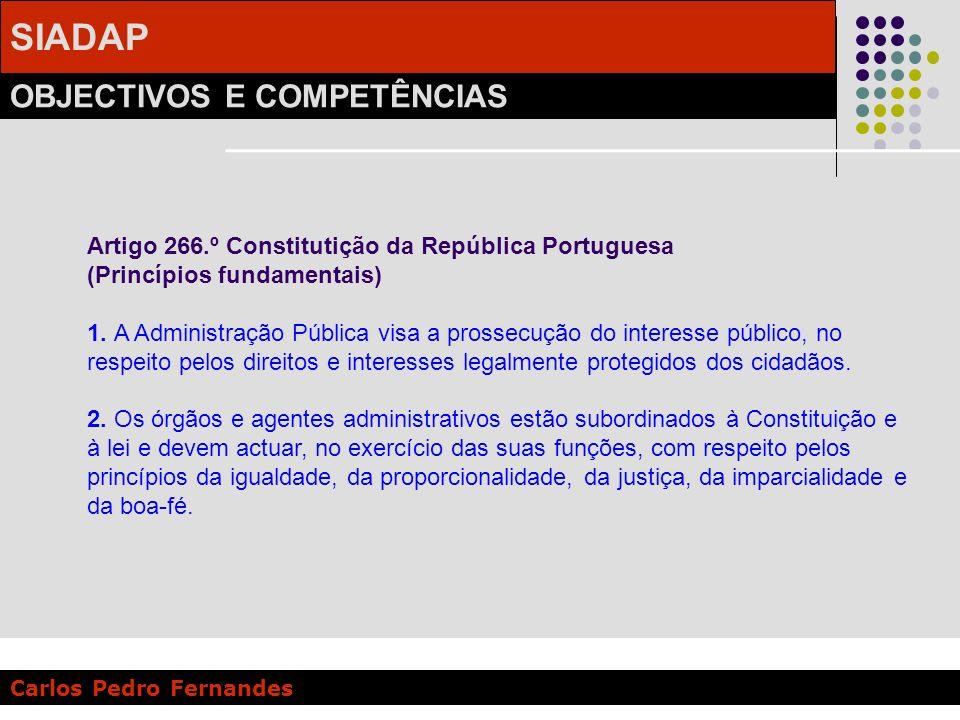 Artigo 266.º Constitutição da República Portuguesa (Princípios fundamentais)
