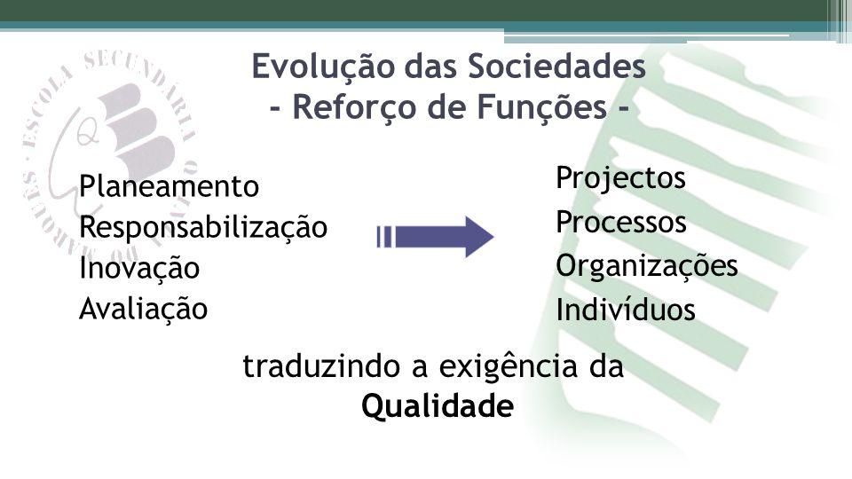 Evolução das Sociedades - Reforço de Funções -