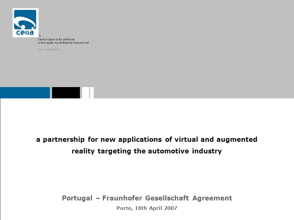 Portugal – Fraunhofer Gesellschaft Agreement