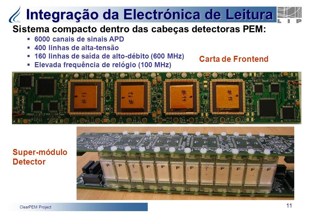 Integração da Electrónica de Leitura