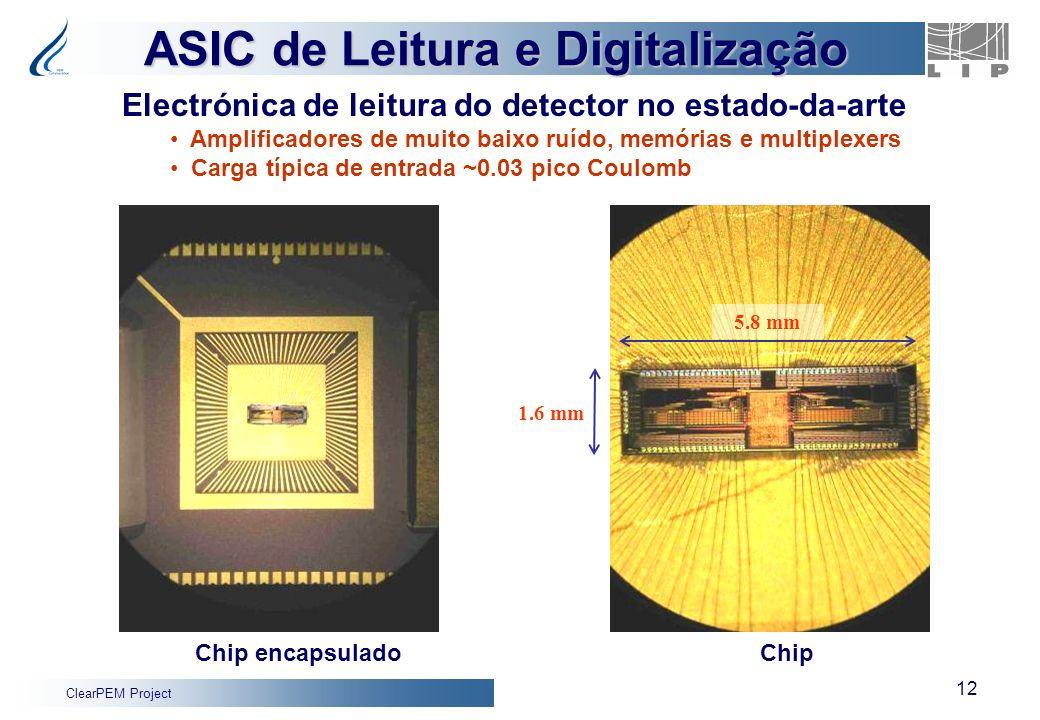 ASIC de Leitura e Digitalização