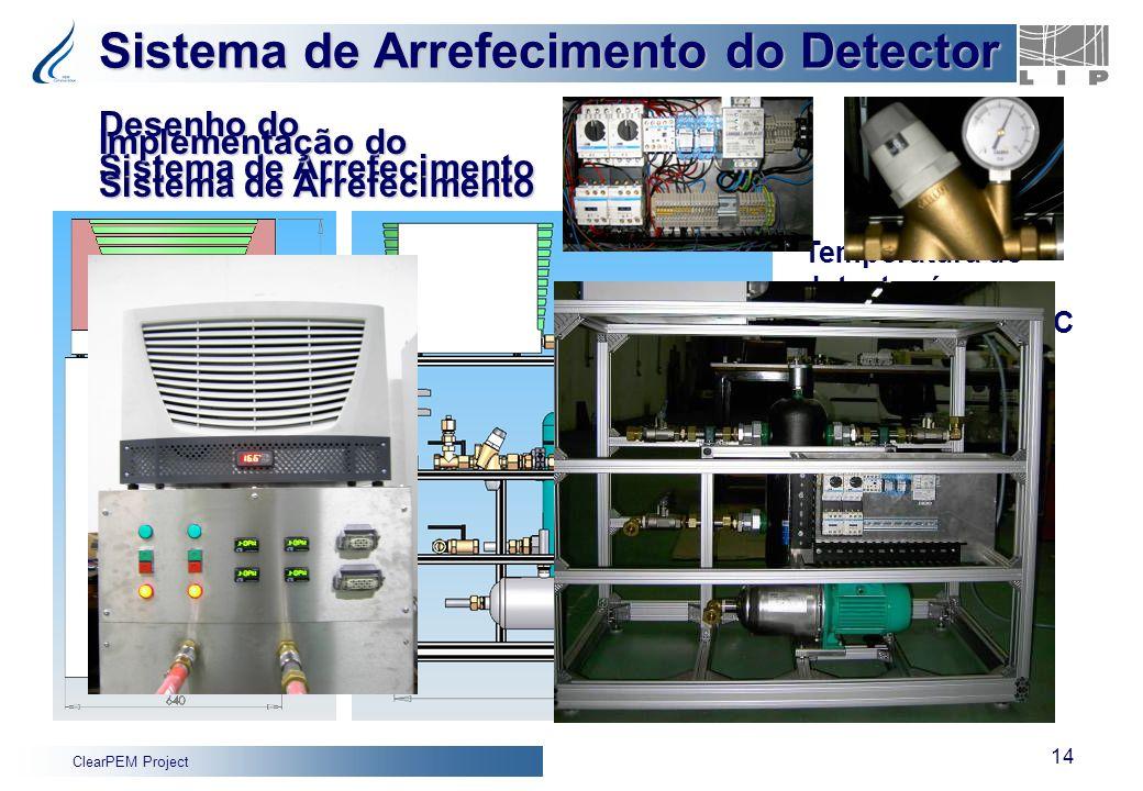 Sistema de Arrefecimento do Detector