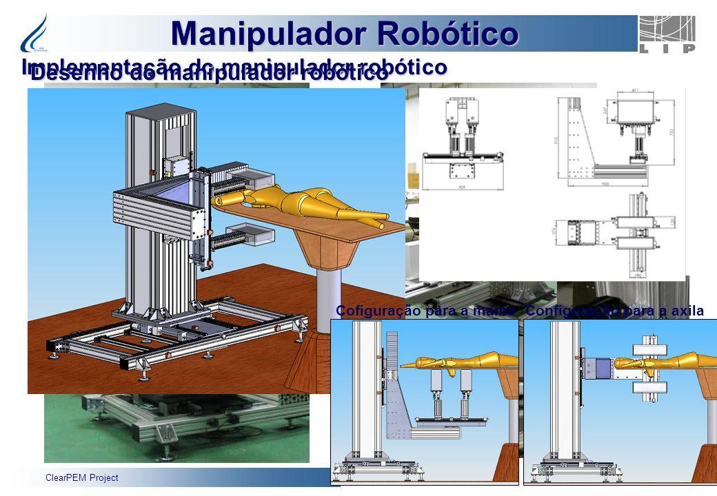 Implementação do manipulador robótico