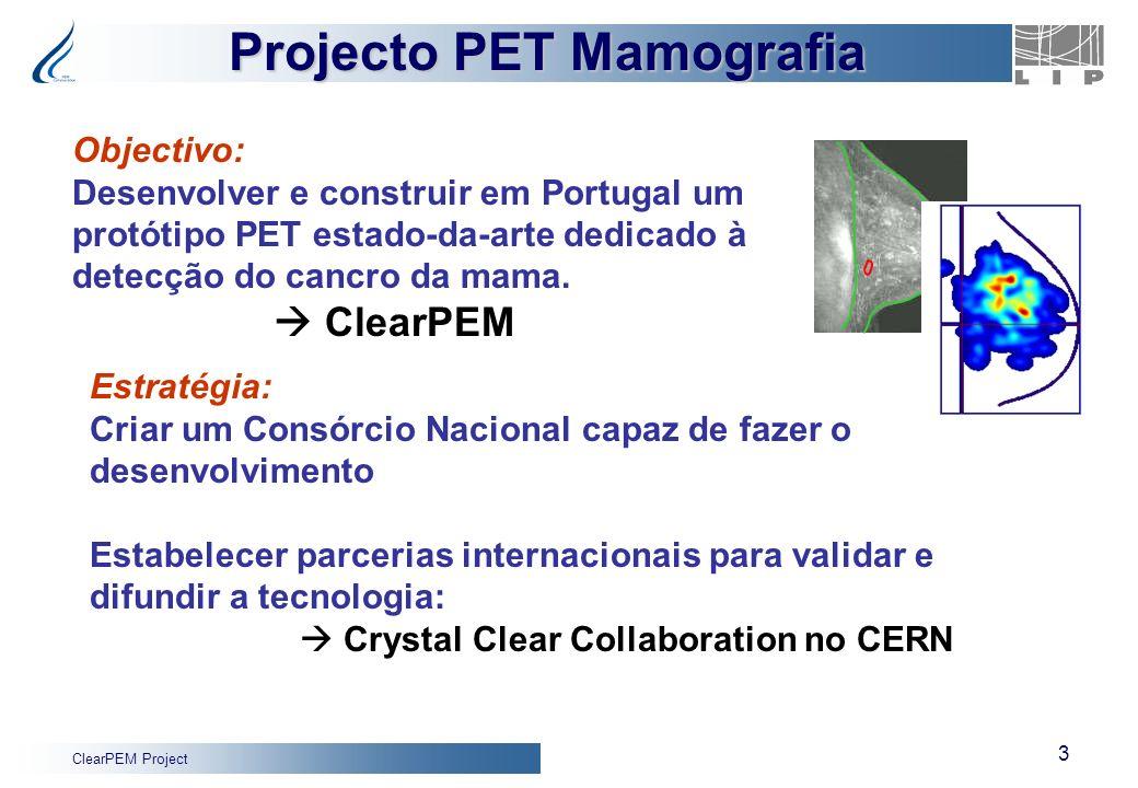Projecto PET Mamografia