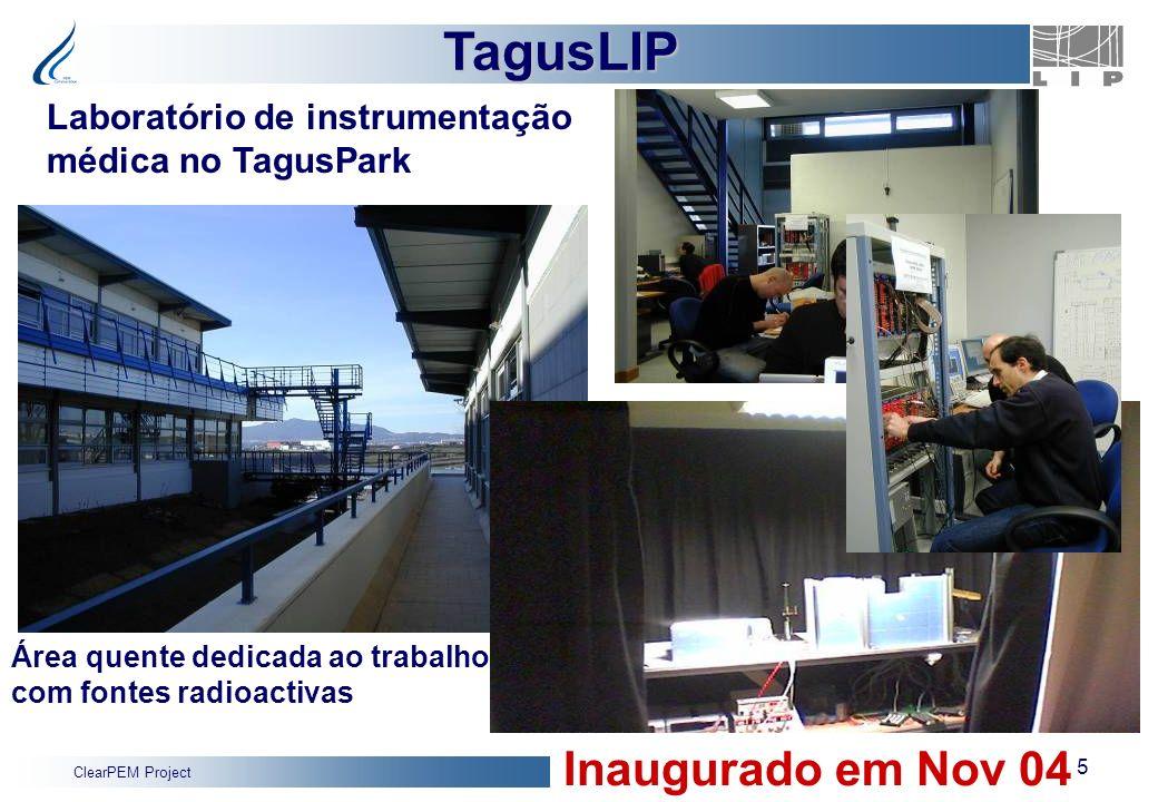 TagusLIP Inaugurado em Nov 04