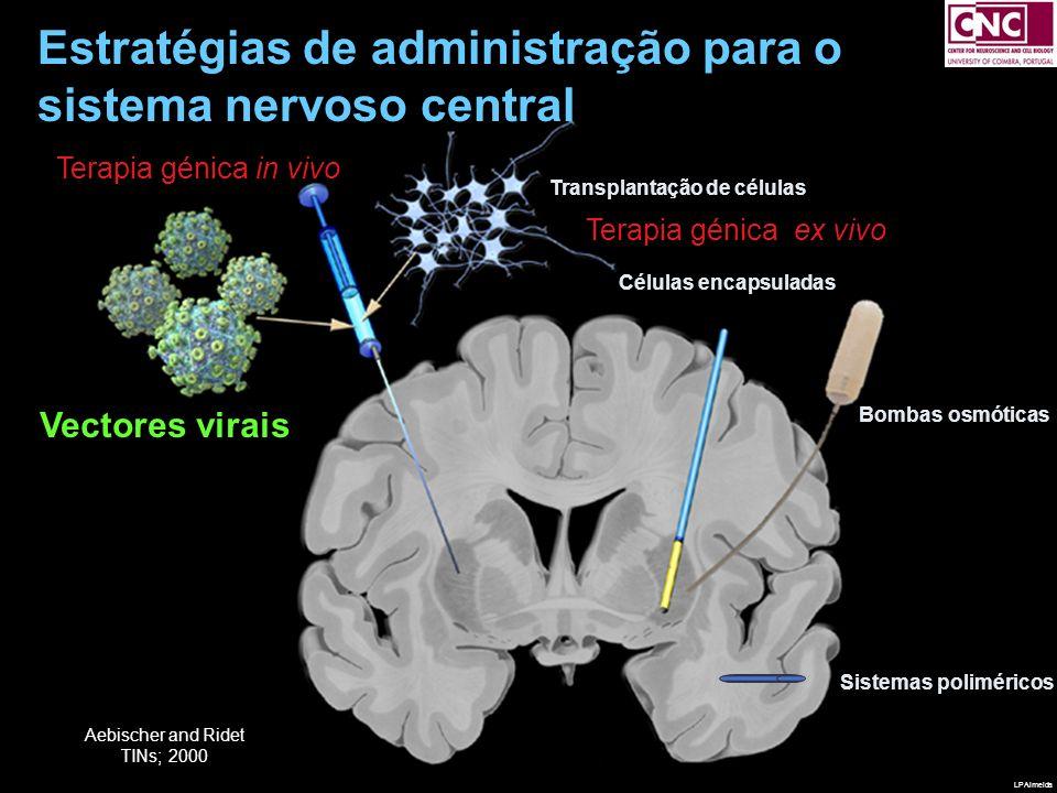 Estratégias de administração para o sistema nervoso central