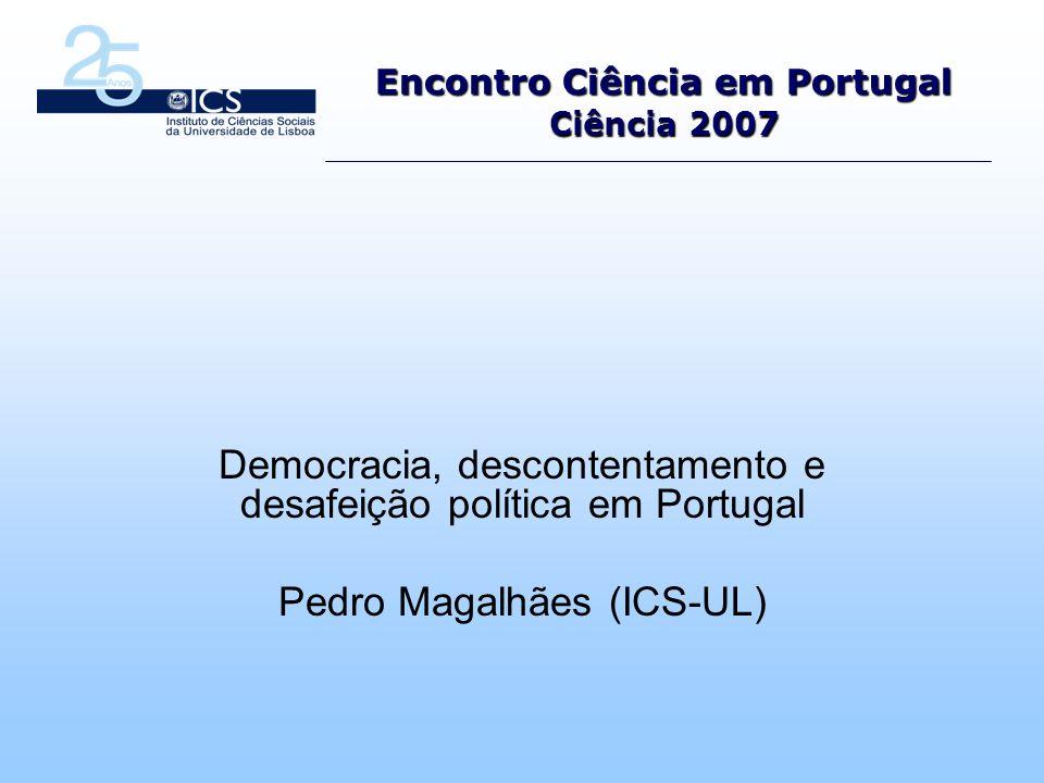 Encontro Ciência em Portugal Ciência 2007