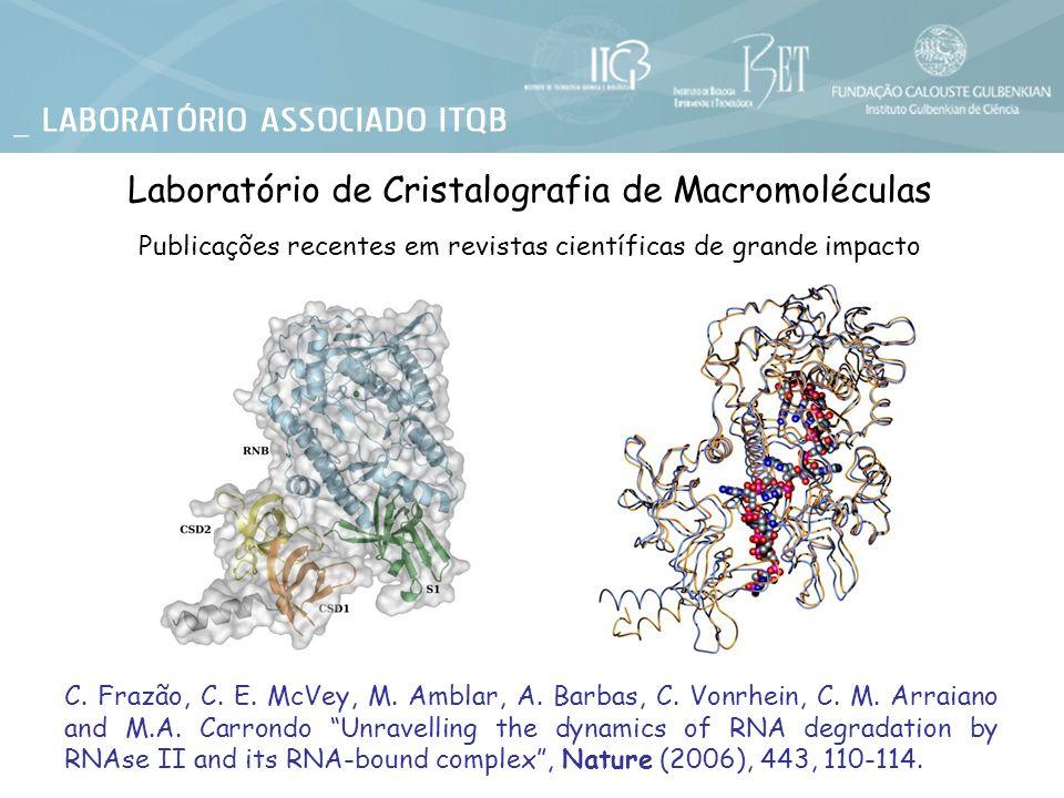 Laboratório de Cristalografia de Macromoléculas