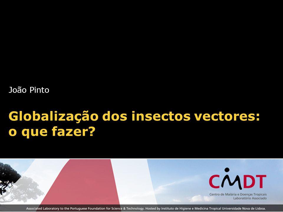 Globalização dos insectos vectores: o que fazer