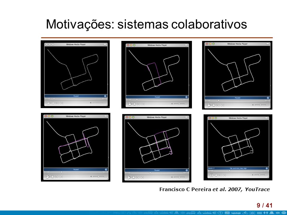 Motivações: sistemas colaborativos