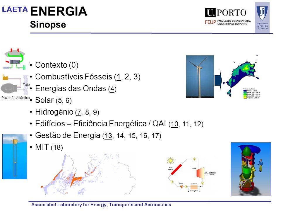 ENERGIA Sinopse Contexto (0) Combustíveis Fósseis (1, 2, 3)